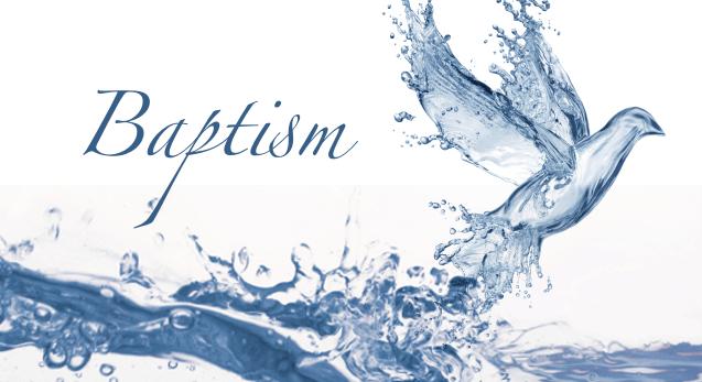 A Virtual Baptism, Mon 4/20 – Church By The Sea